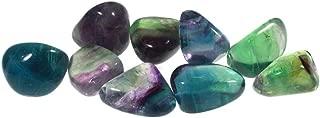 Rainbow Fluorite Tumble Stones (20-25mm) - 5 Pack