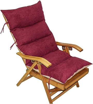 冬のジャンボのロッキングチェア クッション,家の背もたれクッションを厚く 車 畳 屋内 屋外の振動椅子のパッド- 125x50x10cm(49x20x4inch)