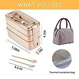 Zoom IMG-1 lunch box con borsa isolante