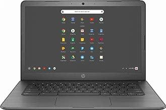 Newest Renewed HP 14' Touchscreen Lightweight Chromebook-Intel Celeron Dual-Core Up to 2.58 GHz Processor, 4GB RAM, 32GB SSD, Intel HD Graphics, WiFi, Chrome OS (Renewed)