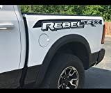 Rebel Bed Side Vinyl Graphics Decals 2015 2016 2017 Install Kit Included! Fits Dodge Ram