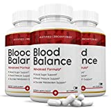 (3 Pack) Blood Balance Advanced Formula All Natural Blood Sugar Support Supplement Pills 180 Capsules