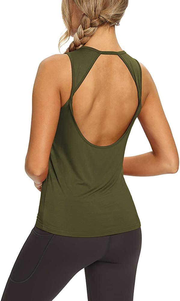 Brown shirt white shorts big tits popup ads Amazon Com Mippo Workout Tops For Women Yoga Shirts Open Back Tank Tops Athletic Tops Gym Workout Clothes Sports Outdoors