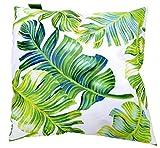 Colormers Fun Coussin décoratif d'extérieur résistant aux intempéries 45 x 45 cm, Vert, 45 cm x 45 cm