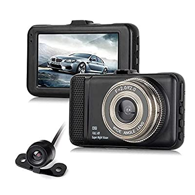 CHEZAI Dash Cam Car Cameras,1080P FHD DVR Mini Driving Recorder With2.2 IPS Screen Night Vision Motion Detection Loop Recording Parking Monitor and G-Sensor from SPRIS
