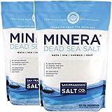 Minera Dead Sea Salt - 10 lbs. Fine Grain (Qty 2 x 5 lb. Bags)
