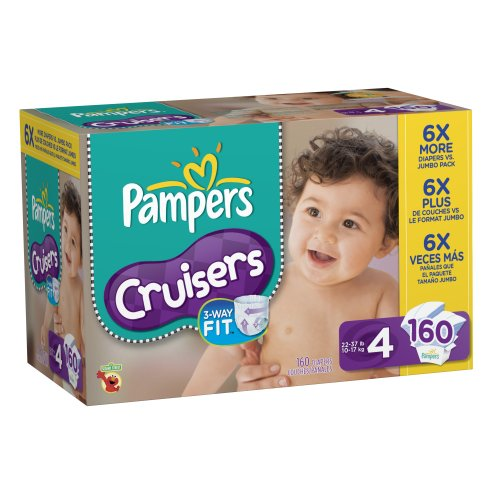 Pampers Cruisers Diapers Size 4 Economy Pack Plus