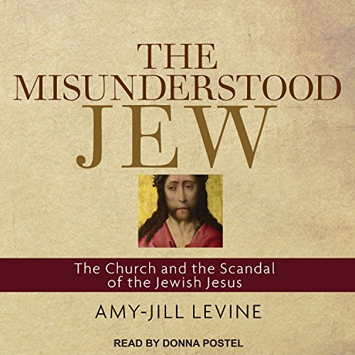 The Misunderstood Jew audiobook cover art