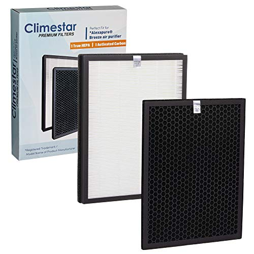 Climestar Premium Compatible Replacement Filter for Alexapure Breeze Air Purifier