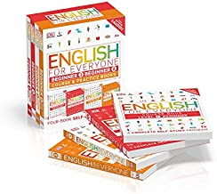 English for Everyone: Beginner Box Set: Course and Practice Books Four-Book Self-Study Program