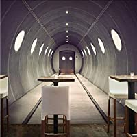 Djskhf カスタム写真の壁紙産業革命テーマレトロ建築壁紙3Dステレオ背景レストランカスタム壁画 400X280Cm