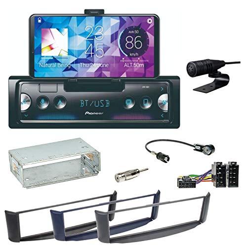 Pioneer SPH-10BT Bluetooth Autoradio USB AUX MP3 FLAC AAC WAV Einbauset Smart ForTwo 450