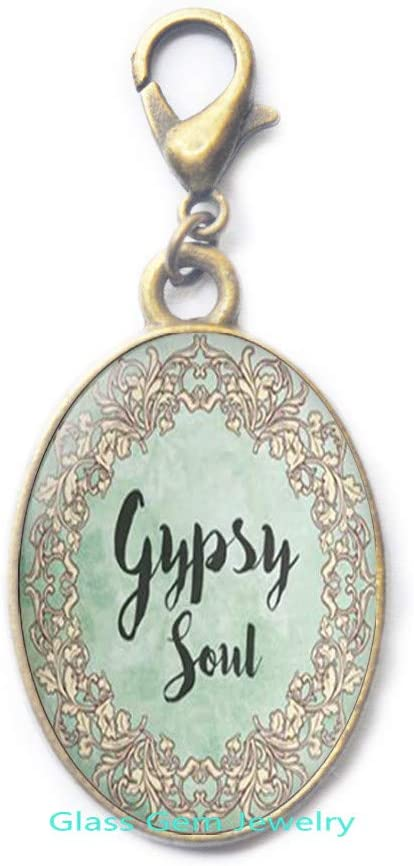 Gypsy Soul Zipper Pull Discount mail order Pul 67% OFF of fixed price Clasp Lobster