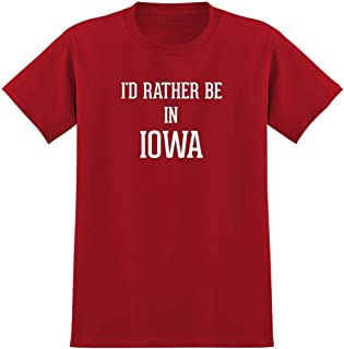 I'd Rather Be In IOWA - Men's Graphic Tee T-Shirt