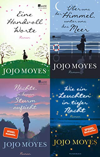 Jojo Moyes 4 Titel im Set + 1 exklusives Postkartenset