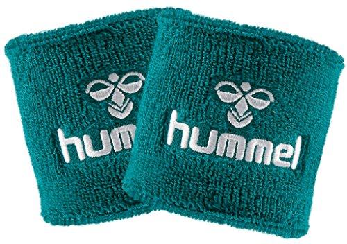 hummel Old School Small Wristband 2er Set in vielen Farben für Handball und weitere Sportarten (Sports Green/White (6101), Big)