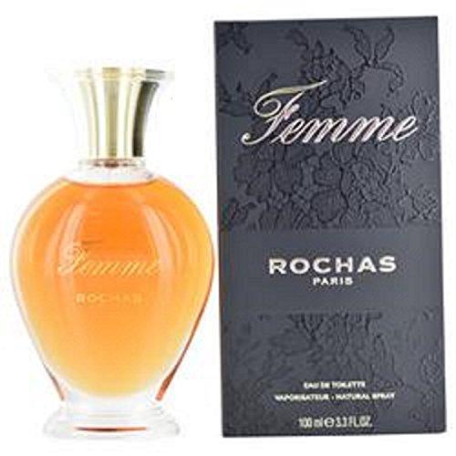 Rochas Femme Eau-de-Toilette-Spray für die Frau, 100ml