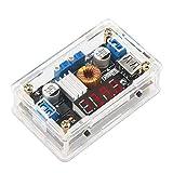 ICQUANZX Módulo de Fuente de alimentación LM2596 Convertidor de CC 5V-36V a 1.25-32V Reductor de Voltaje Estabilizador del regulador 3A 5A CC Volt Reductor de Transformador