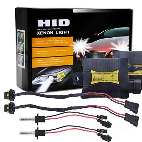 Kit de remplacement HID Xenon Light par Heinmo 1 paire de phares HID de 55/W Xenon H3 H7 H9 H11 H8 H1 9005 9006 880 881 HB3 HB4