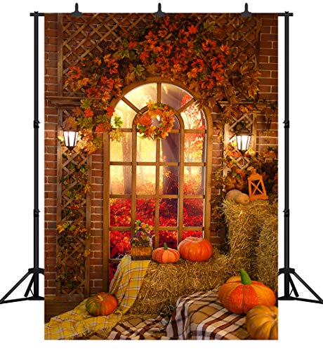 CSFOTO 10x8ft Halloween Backdrop Halloween Theme Party Photography Background Haunted House Ghost Cemetery Full Moon Child Baby Portrait Vinyl Wallpaper