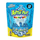 Baby Bottle Pop Individually Wrapped Party Pack With Flavored Candy/Lollipop Suckers & Candy for Celebrations And Virtual Parties, Blue Raspberry, 10 Count Bag