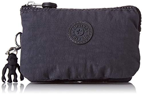 Kipling Creativity S - Portamonete Donna, Grigio (Night Grey), 14.5x9.5x5 cm (B x H T)