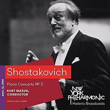 Shostakovich: Piano Concerto No. 2 (Recorded 2001)
