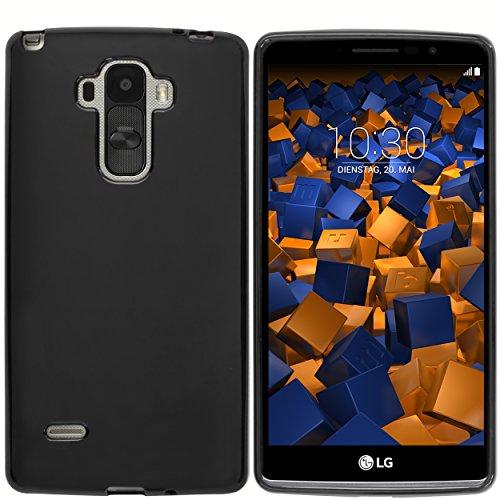 mumbi Hülle kompatibel mit LG G4 Stylus Handy Hülle Handyhülle, schwarz