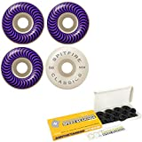 Spitfire Skateboard Wheels Classic Series - Set of 4 (58mm White 99A)
