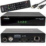 Octagon SX88+ Optima H265 - Ricevitore satellitare HD PVR Time Shift YouTube MKV con cavo HDMI Babotech®