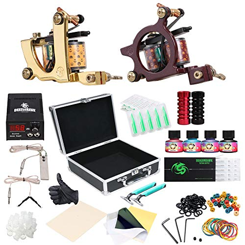 DragonHawk Complete Tattoo Kit for beginners