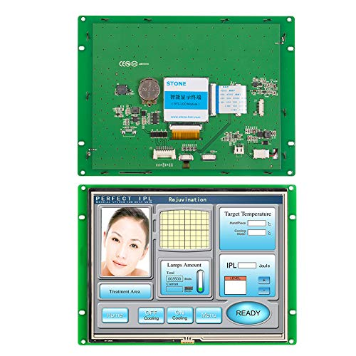 8 inch Programmable Smart TFT LCD Resistive Touch Screen for Industrial Control