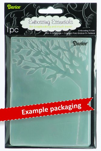 Darice Argyle Embossing Folder, 5-Inch by 7-Inch
