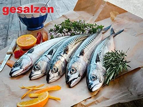 Makrelen gesalzen zum selber Räuchern