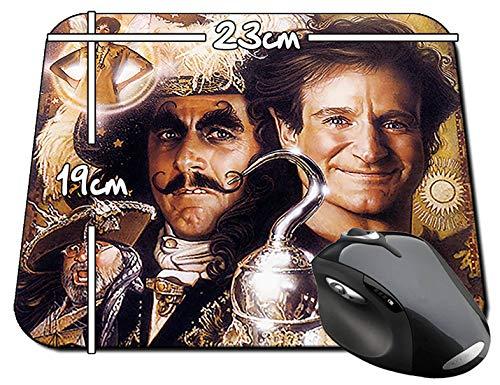 Hook Peter Pan Robin Williams Dustin Hoffman Alfombrilla Mousepad PC