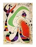 1art1 Joan Miró - Die Nacht II Poster Kunstdruck 50 x 40