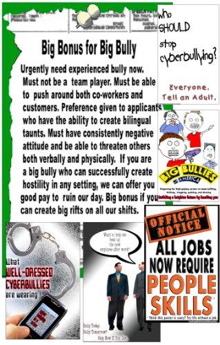 Póster # S9Prevención de bullying, Stop Cyberbullying, bully-free carteles