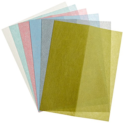 Zona 37-948 3M Wet/Dry Polishing Paper, 8-1/2-Inch X 11-Inch, Assortment Pack One Each 1, 2, 3, 9, 15, and 30 Micron