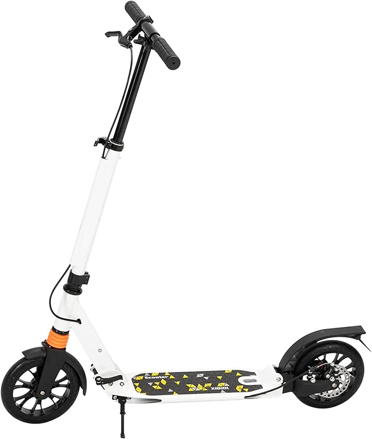 ZHOUZHONGLAN Portable Scooter Compatible 3 Super sale period NEW before selling limited Heig AdultTeens with