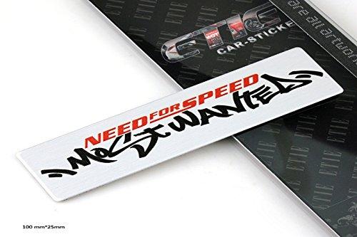 D633 Need for Speed auto aufkleber 3D Emblem Badge Schriftzug car Sticker emblema Abziehbild
