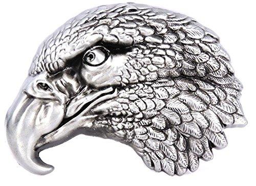 Gemelolandia Hebilla de Cinturón Cabeza de Aguila | Complementos de Moda Unisex Para Hombres y Mujeres Exclusivos y Atemporales | Accesorios Para Regalos Originales