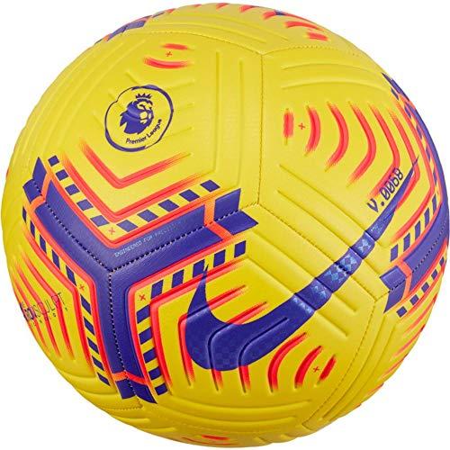 Nike Premier League Strike Football 202021 SIZE 5 YELLOWPURPLE