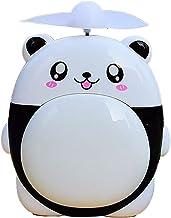 HUI JIN Mini ventilateur de bureau USB pour enfant Motif panda