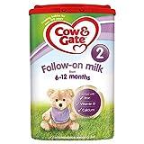 Cow & Gate 2 Folgemilch von 6 bis 12 Monaten - 800 g -