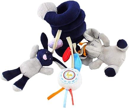 d8a26056c Cochecito de bebé de juguete Espiral de actividades Colgando del juguete  con el que suena Bell