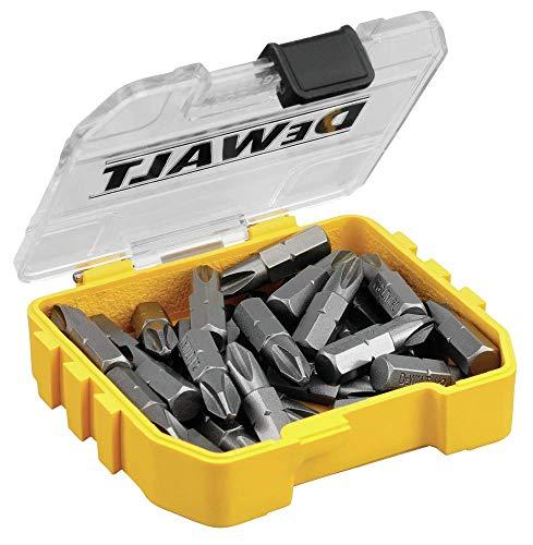 DEWALT DWAF2002B30 - Juego de accesorios para atornillar, color amarillo