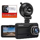 ドライブレコーダー カメラ 1080PフルHD 小型ドラレコ 170°広視野角 G-センサー WDR機能搭載 常時 衝撃録画