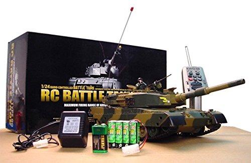 AZ Trading & Import M190 1/24 Defense Force Type 90 Radio Remote-Control R/C Airsoft Battle Tank