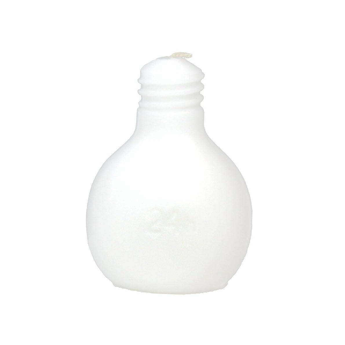意志布何かカメヤマキャンドルハウス 節電球キャンドル  ホワイト