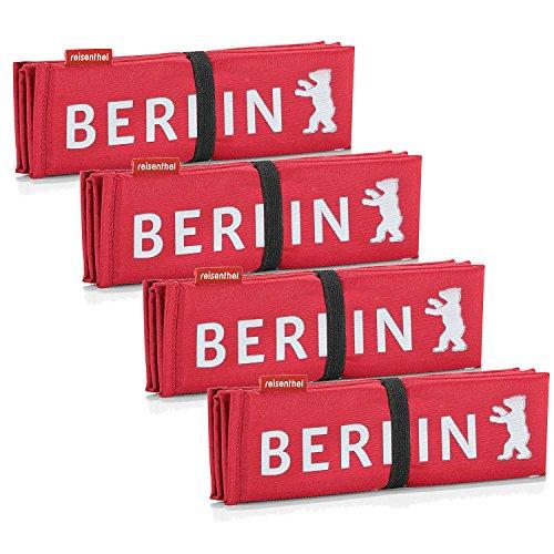 Reisenthel 4X seatpad rot Berlin reserviert Sitzkissen mit Berlin-Aufdruck